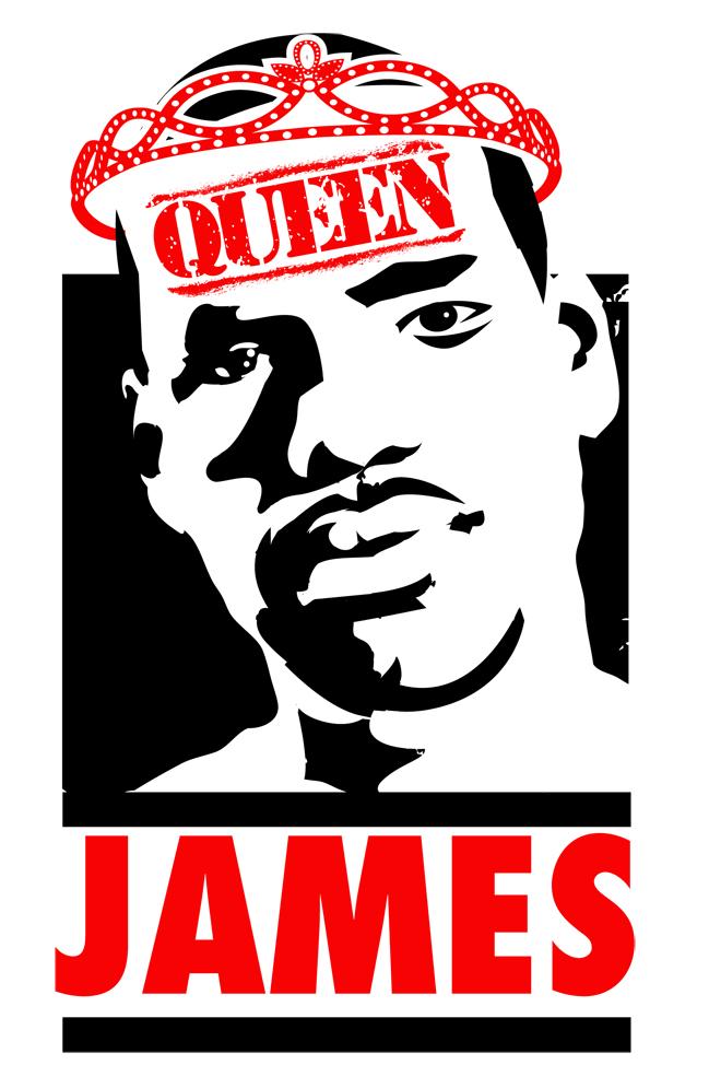 Lebron james dating queen